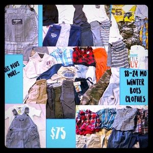 18-24 MONTHS BOYS CLOTHES LOT